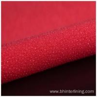 Woven Adhesive Chiffon Fusing Interlining Fabric for Dress Manufactures