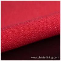 Colorful Double dot coating woven fusible interlining Manufactures