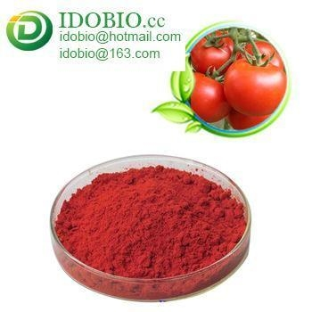 Quality ISO Certificated Food Grade Pure Tomato Skin Extract for sale