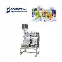 China Economical Cosmetics Plastic Tube Filling And Sealing Machine on sale