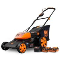 WEN 40439 40V Max Lithium Ion 19-Inch Cordless 3-in-1 Lawn Mower with Two Batteries Manufactures