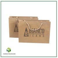 China Cattle card thickened paper bag on sale