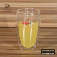 Buy cheap Heat Resistant Glassware Borosilicate Double Wall Glass Cup for Beverage from wholesalers
