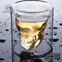 Buy cheap Wholesale Eco-friendly Crystal Skull Beer Glass Cup Whisky Shot Glass Cup from wholesalers