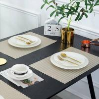 Buy cheap PVC Placemat JH8005 LIGHT GOLD Vinyl Placemat from wholesalers