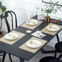 Buy cheap PVC Placemat JH8005 GOLD Vinyl Placemat from wholesalers