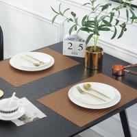 Buy cheap PVC Placemat JH8005 COPPER Vinyl Placemat from wholesalers