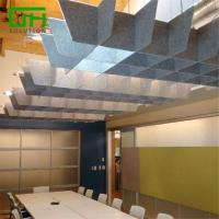 Buy cheap PET Acoustic Ceiling Panels from wholesalers