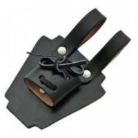 Buy cheap Swords Knots and Frogs Leather Black Dagger Frog from wholesalers