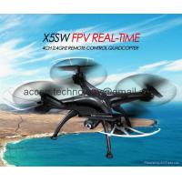 China X5SW WIFI FPV Real-Time RC Drone 2.4G 4CH Headless Quadcopter Toys W/ HD Camera on sale