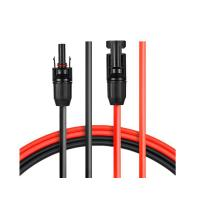China JYFT 10AWG(6mm) Solar Extension Cable with MC4 Female and Male Connector on sale