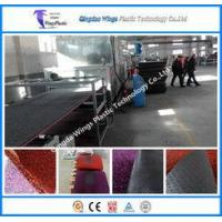 China China Plastic PVC Coil Mat Making Machinery Extrusion Machinery Factory PVC Coil Mat Machine on sale
