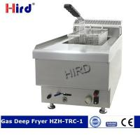 Quality Gas Deep Fryer Commercial counter top fryer for stainless st for sale