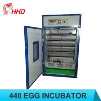 Quality CE approved HHD chicken egg incubator for sale/poultry egg incubator for 440 eggs for sale