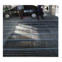 Quality Platform walkway 25*5 Open grid steel grating fabricated grate for sale