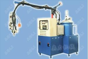 China Two Components PU Form Injection Machine