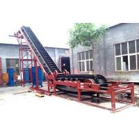Quality Belt Conveyor With High Inclination Angle And Waved Guard Side for sale