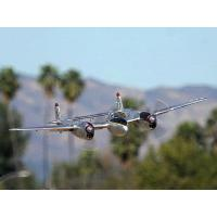 Quality FlightLine RC P-38L Lightning Pacific Silver 1600mm (63 inch) Wingspan - PNP RC Airplane for sale