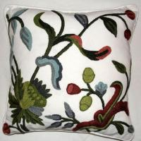 Quality Crewel Cushion Covers for sale