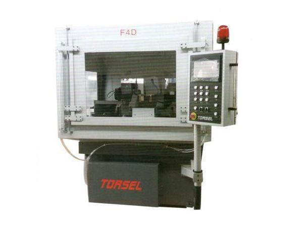 Quality CNC double head rake grinder F4D for sale