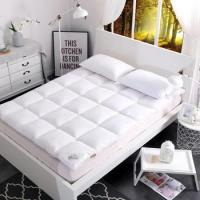 China Hotel Goose Feather Bed Mattress Topper Queen on sale