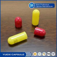 Quality Red/Yellow Empty Halal Capsules for sale