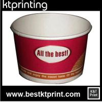 Quality 100% biodegradable Custom Printed Frozen Yogurt Cup for sale