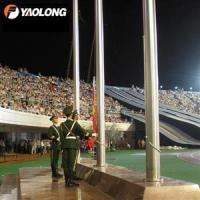 Quality 40ft Electric Operated Internal Aluminum Flagpole for sale