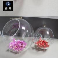 Buy cheap Christmas Ball collection Whole openable clear plastic ball from wholesalers