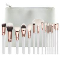 Quality 15 pcs professional makeup brushes set for sale