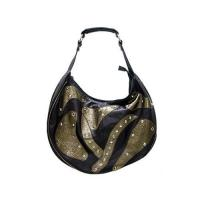 Buy cheap Riveted Leather Patch Hobo Bag from wholesalers