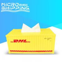 1:25 DHL TISSUE CONTAINER | CONTAINER TISSUE BOX Manufactures