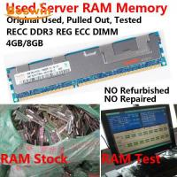 Buy cheap Used RAM Memory Used RECC DDR3 Server RAM from wholesalers