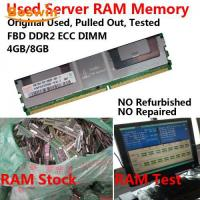 Buy cheap Used RAM Memory Used FBD DDR2 Server RAM from wholesalers