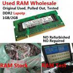 Buy cheap Used RAM Memory Used DDR2 PC RAM from wholesalers
