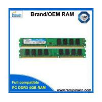 China PC ram memory ddr3 ram 1600mhz 4gb with ETT chips on sale