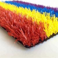 Buy cheap Muti-color Artificial grass turf from wholesalers
