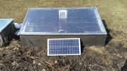 The Winter Garden - Solar Coldframe Greenhouse Manufactures