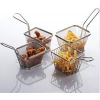 Buy cheap Kitchenware mesh Frying basket-Strainer from wholesalers