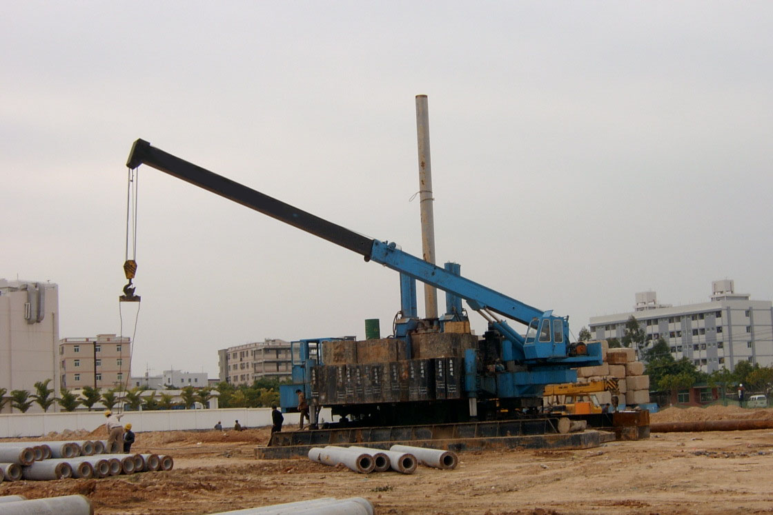 Hydraulic Pressure Piling Driver ZYC80 Manufactures